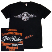 Big Shotz 2nd Annual Black Tee