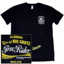 Big Shotz 1st annual Black Tee